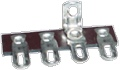 Terminal Strip 4 Lug 2nd Lug Common Horizontal package of 5