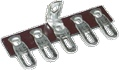 Terminal Strip 5 Lug 3rd Lug Common Horizontal package of 5