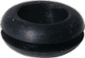 Grommet Rubber Diameter 3 8 Inch for Chassis Diameter 1 2 Inch pkg of 5