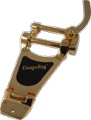 Vibrato Bigsby B70 Gold for Thin Acoustic Electric Guitars