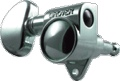 Tuner Machine Head Grover Rotomatic 3 Side 18:1 Chrome
