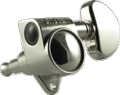 Tuner Machine Head Grover Rotomatic 3 Side 14:1 Nickel