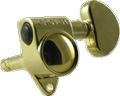 Tuner Machine Head Grover Locking 3 Side 18:1 Gold