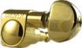 Tuner Machine Head Grover Mini Roto 6 Line 14:1 Gold