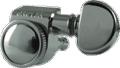 Tuner Machine Head Grover Mini Roto Grip Lock 3 Side 18:1 Chrome