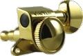 Tuner Machine Head Grover Mini Roto Grip Lock 6 Line 18:1 Gold