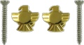 Strap Buttons Grover Eagle Gold