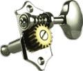 Tuner Machine Head Grover Sta-Tite 3 Side 18:1 97 Vert Nickel