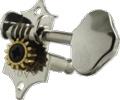 Tuner Machine Head Grover Sta-Tite 3 Side 14:1 97 Vert Nickel