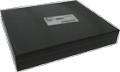 Chassis Box- Hammond Black Steel 12 Inch x 10 Inch x 2 Inch