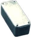 Box Hammond Unpainted Aluminum 3.64 Inch x 1.52 Inch x 1.06 Inch Depth