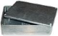 Box Hammond Unpainted Aluminum 4.67 Inch x 3.68 Inch x 1.18 Inch Depth