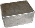 Box Aluminum Unpainted 4.72 Inch x 3.70 Inch x 2.07 Inch D Hammond