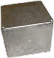 Box Hammond Unpainted Aluminum 4.70 Inch x 4.70 Inch x 3.54 Inch Depth