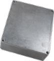 Box Hammond Unpainted Aluminum 5.3 Inch x 4.4 Inch x 1.5 Inch Depth