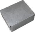 Box Hammond Unpainted Aluminum 5.3 Inch x 4.4 Inch x 2.2 Inch Depth