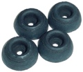 Feet Rubber 3 8 Inch x 15 16 Inch package of 4