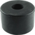 Foott Rubber 1-1 2 Inch D x 1 Inch H with Metal Washer