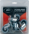 Caster Peavey Locking Brake package of 4