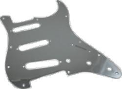Pickguard Original Fender American Strat 11-Hole Chrome