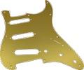 Pickguard Fender Strat 11-Hole Gold-Anodized