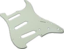 Pickguard Original Fender American Strat 11-Hole Parchment