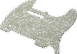 Pickguard Original Fender American Tele 8-Hole White Pearloid