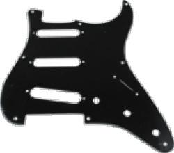 Pickguard Original Fender Vintage 57 Strat 8-Hole Black