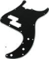 Pickguard Original Fender American Std P-Bass 13-Hole Black