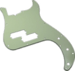 Pickguard Original Fender American Std P-Bass 13-Hole Mint Green