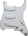Loaded Pickguard Lace White Loaded with 1 each: Blue Silver Red