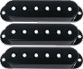 Pickup Covers for Single Coil Strat Black package of 3