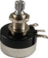 Pot 250K Audio Sealed 24mm Knurled Shaft
