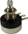 Pot 500K Audio Sealed 24mm Knurled Shaft