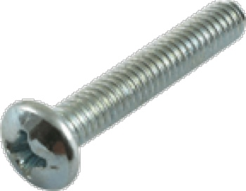 Screw Machine Phillips Pan Head 8 32 x 1 Inch Zinc package of 5